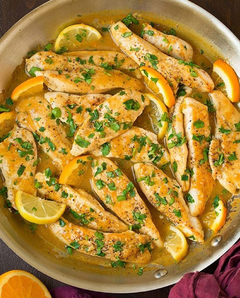 Blog  Skillet Citrus Chicken Tenders
