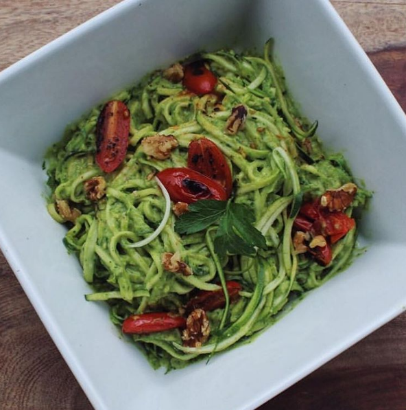 Blog  Zucchini Noodles With Zesty Avo Sauce
