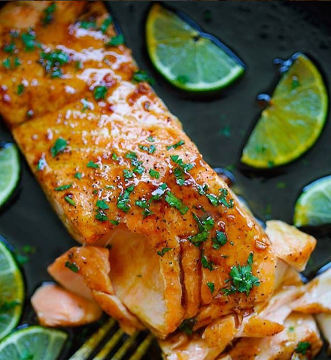 Blog  Honey Lime Salmon