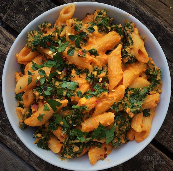 Blog  Cheesy Red Capsicum Penne