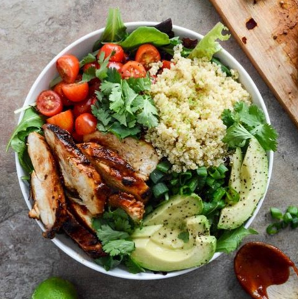 Blog  Honey Chipotle Chicken with Lime Quinoa