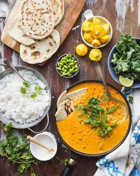 Blog  Peanut Lentil Curry