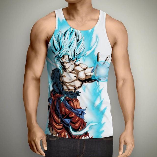 Dragon Ball Z T-Shirt Super Saiyan 3D