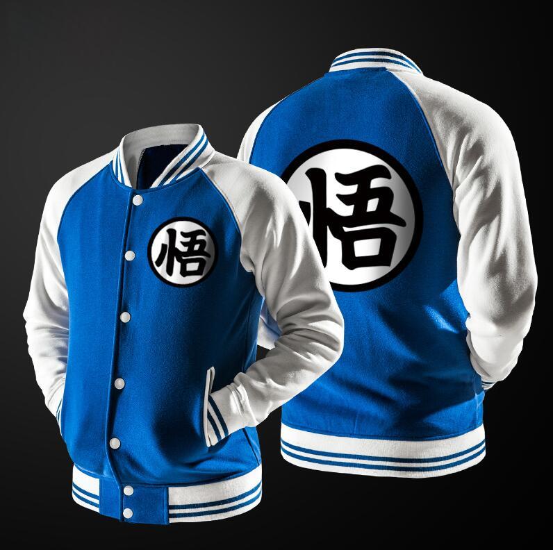 Goku Uniform Symbol Jacket Free Shipping Worldwide