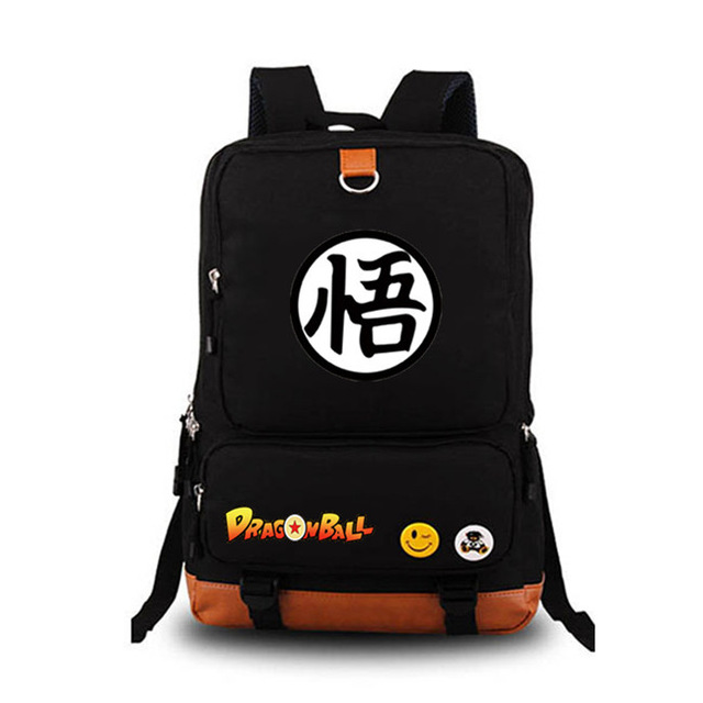 Anime-DragonBall-Dragon-Ball-Z-Son-Goku-Coplay-Backpack-Satchel-Laptop-Travel-School-Bag-Knapsack-Packsack