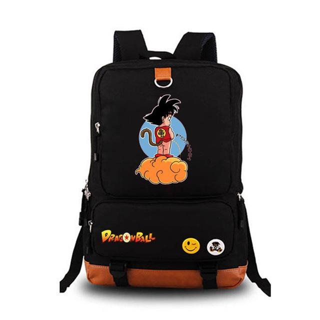 Anime-DragonBall-Dragon-Ball-Z-Son-Goku-Coplay-Backpack-Satchel-Laptop-Travel-School-Bag-Knapsack-Packsack