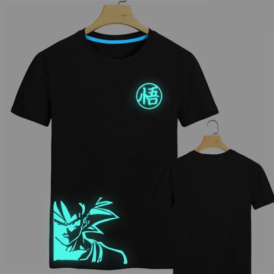 -Japan-anime-Dragon-Ball-Z-T-Shirt-Super-Saiyan-fluorescent-t-shirt-men-Son-Goku