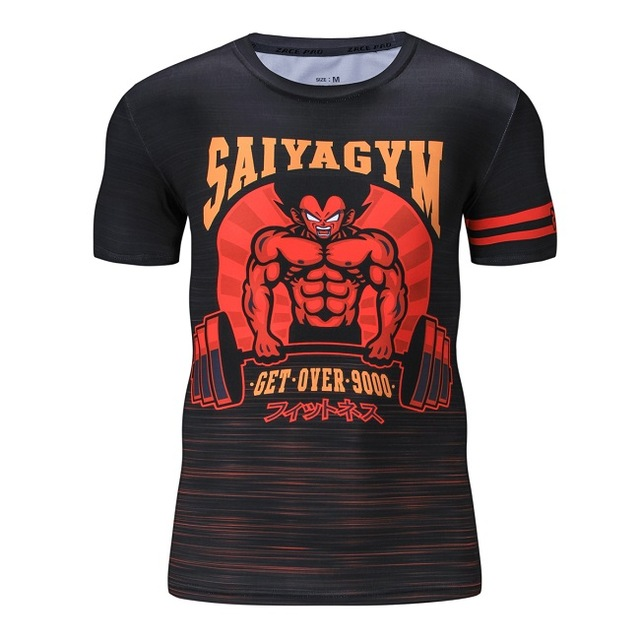 dbz workout shirts
