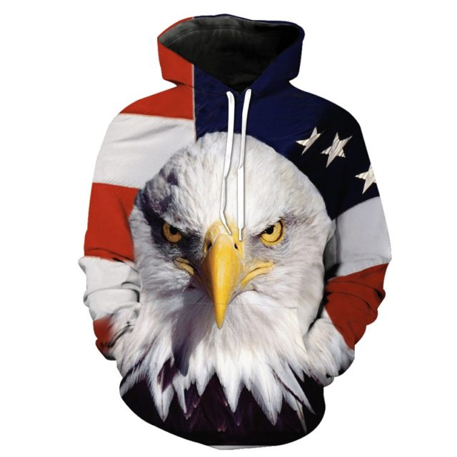 AMERICAN EAGLE 3D HODIES