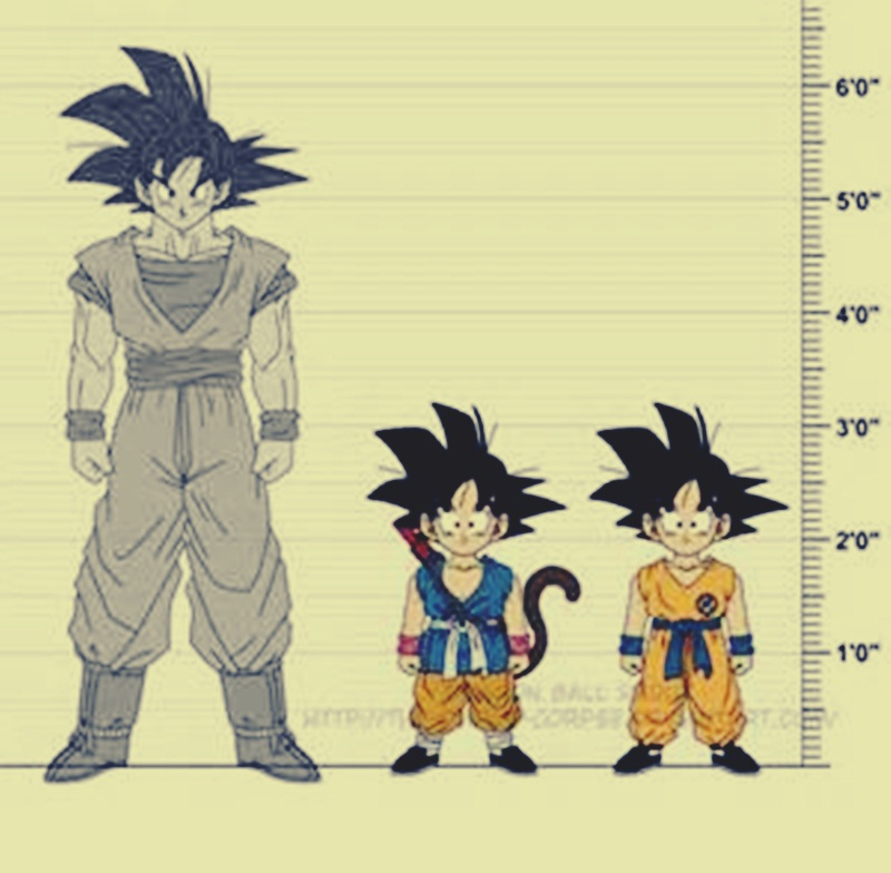 Blog  How Tall Is Goku?