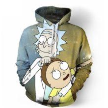 Rick & Morty 3D Hoodies