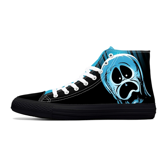 SKULL 3D HIGH TOP SHOES (7 DESIGN)