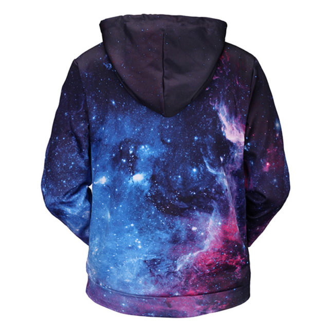 CLASSIC SPACE STYLE 3D HOODIE (4 VARIAN)