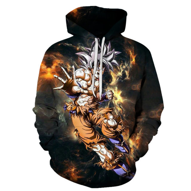 Dragon Ball Hoody Mens Hoodies Anime Sweatshirt 3D Goku Tracksuit Saiyan Pullover Streatwear Coat Autumn 6XL DropShip ZOOTOPBEAR (Copy)