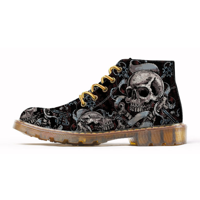 SKULL OBSESSION 3D BOOT