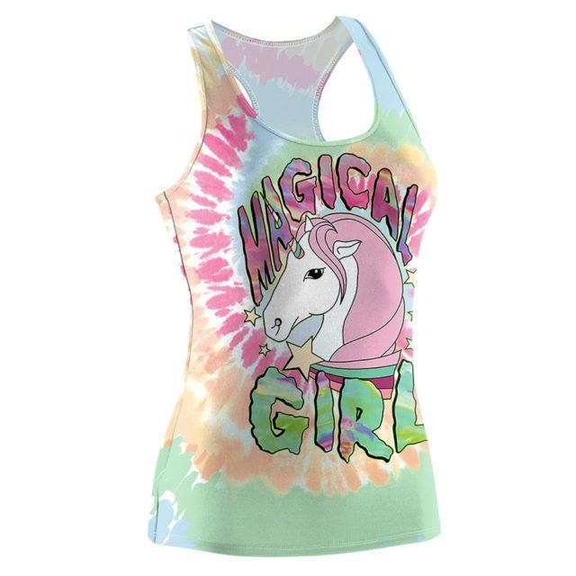 UNICORN MAGIC GIRL TANK TOP