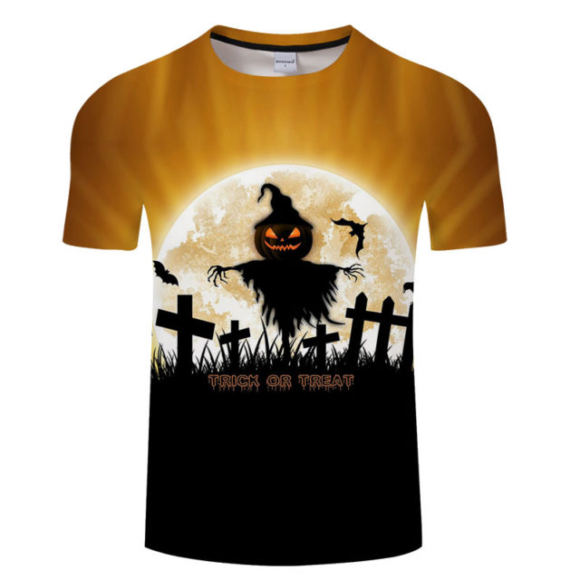 TRICK OR TREAT 3D T-SHIRT
