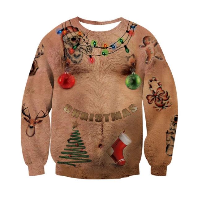 UGLY CHRISTMAS 3D SWEATSHIRT