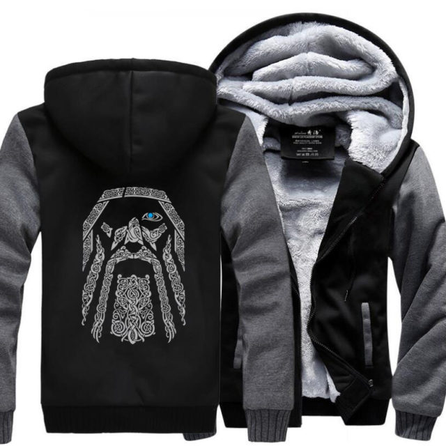 ODIN ALLFATHER HOODIE (6 VARIAN)