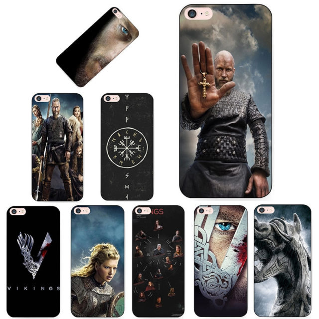 VIKINGS THEMED IPHONE CASE (10 VARIAN)