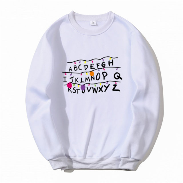 STRANGER THINGS SWEATSHIRT (17 VARIAN)