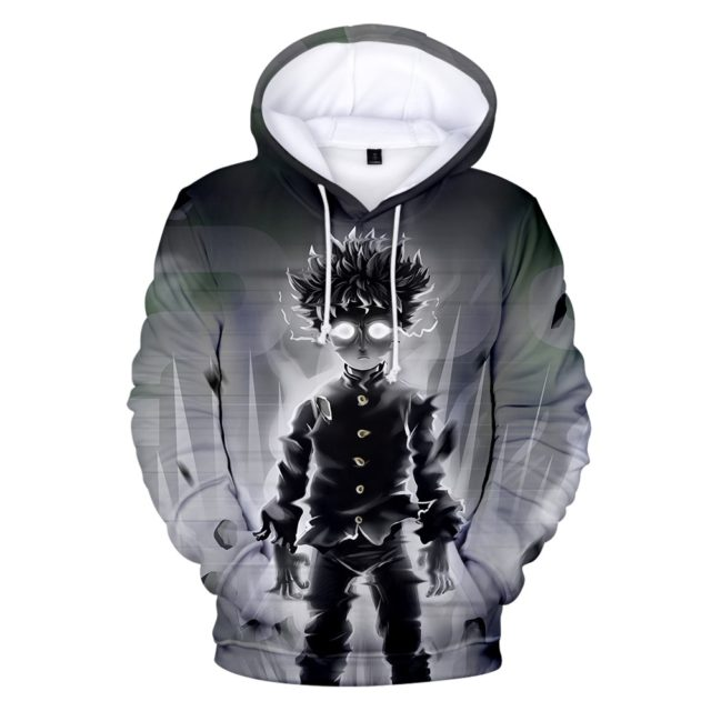 Children Size Mob Psycho 100 Hoodies Men/Boys Sweatshirts High Quality ONE PUNCH-MAN hoodie Autumn Winter Kids Clothing