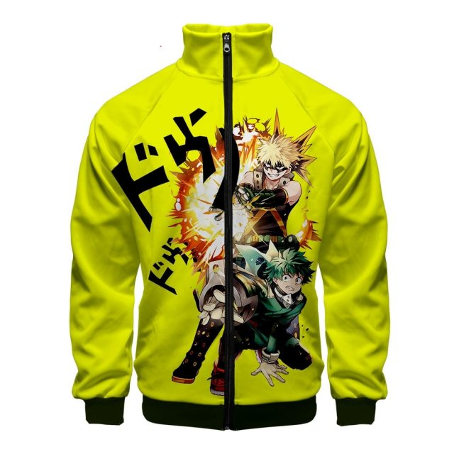 2019 My Hero Academia Zipper Jackets Casual Hoodies New Fashion Highstreet Autumn And Spring Clothes Jacket for men