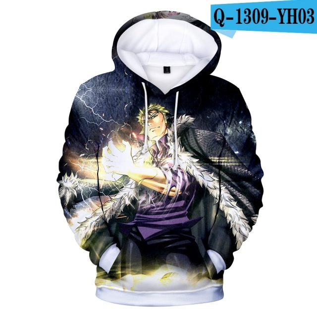 Best seller Men's Hoodies Anime Fairy Tail Sweatshrit Fashion Design Fairy Tail Hoodies Kids Sweatshirt Comfortable Pullovers