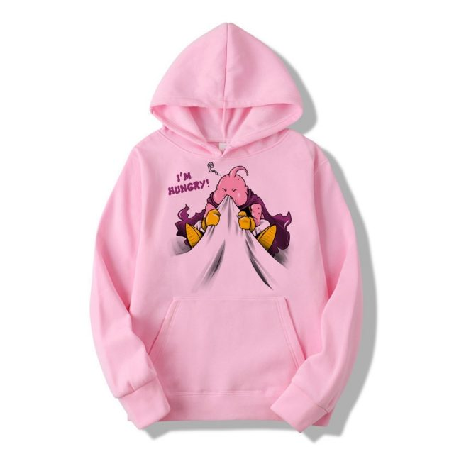 Brand Men Hoodie 2020 Autumn Hip Hop Streetwear Men Pullover Majin Buu Print Sweatshirts Hoodies Male